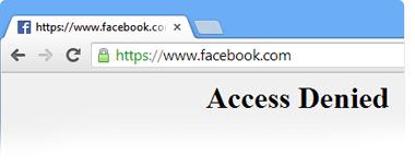 Setting websites URL